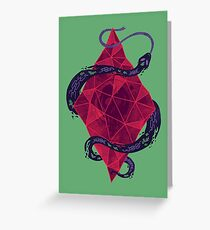 Mystic Crystal Greeting Card