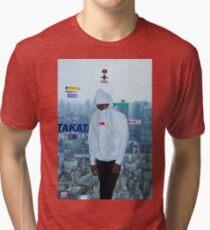 Frank Ocean Boys Don't Cry Poster  Blonde Tri-blend T-Shirt