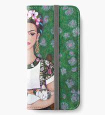 Frida cat lover iPhone Wallet/Case/Skin