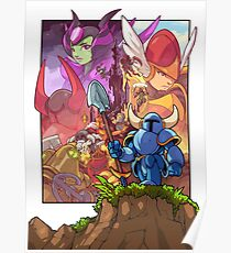 Shovel Knight - Adventure (Poster) Poster