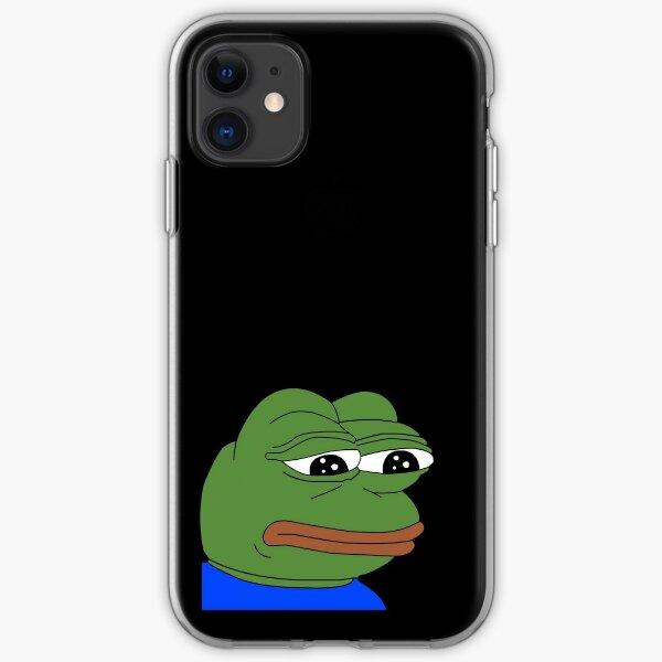 sad pepe iPhone Soft Case