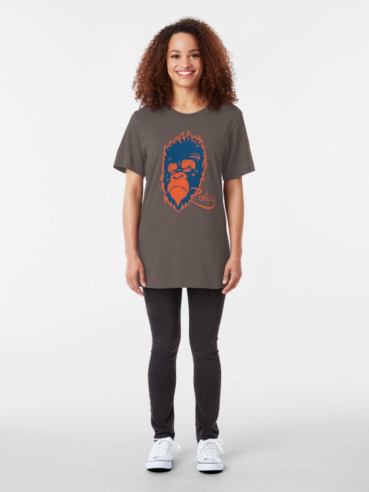 Alternate view of Grumpy Gorilla Slim Fit T-Shirt