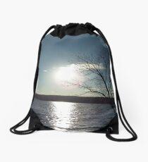 Perkiomen Sunset Drawstring Bag
