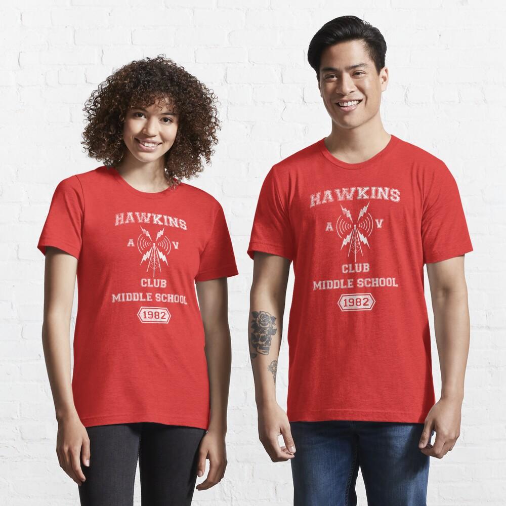 Hawkins AV Club Essential T-Shirt