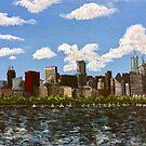 Windy City Skyline by Josh Mings