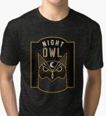 Camiseta de tejido mixto Noctámbulo