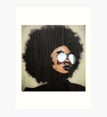 Lámina artística Venus Afro