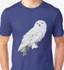 Geometric Snowy Owl Unisex T-Shirt