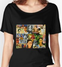 Obsessed with Frida Kahlo Women's Relaxed Fit T-Shirt