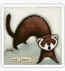 War Dance Sticker