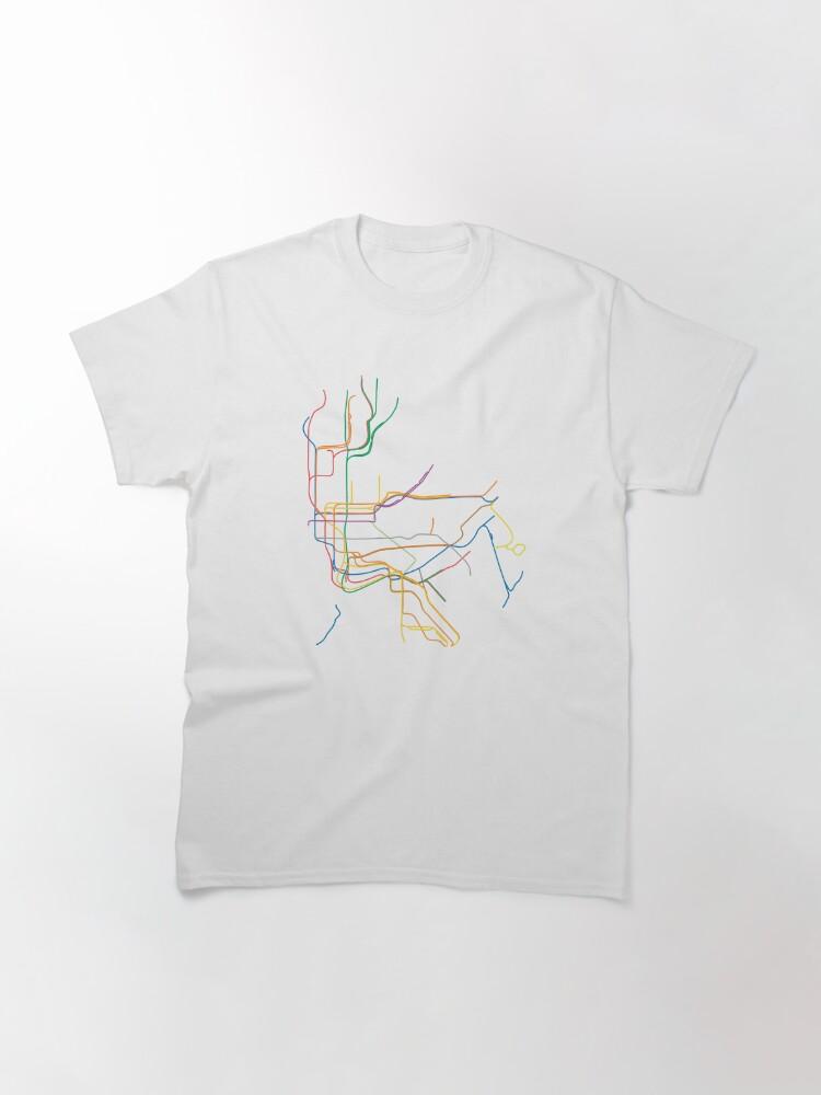 Alternate view of New York City Subway Classic T-Shirt