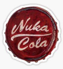 Nuka Cola Bottle Cap - Sticker Sticker