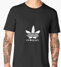 ADIDASH  WHITE Men's Premium T-Shirt