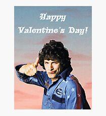 Hot Rod Valentine's Day Photographic Print