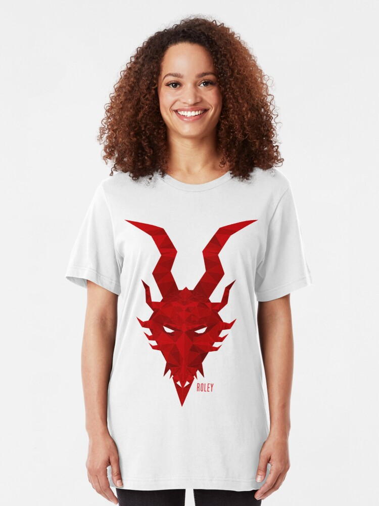 Alternate view of Red Dragon Slim Fit T-Shirt
