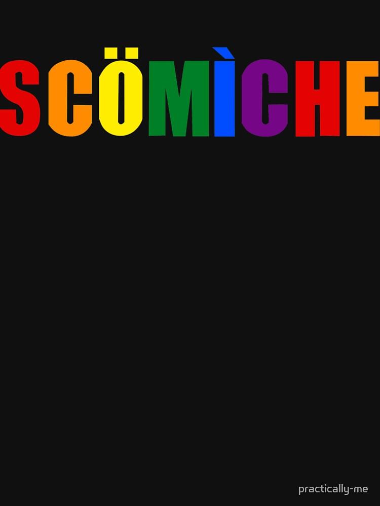 Regenbogen Scomiche von practically-me