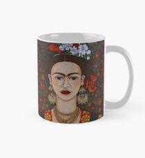 Frida with butterflies Mug