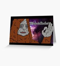 TBL Large Space Sassy Greeting Card