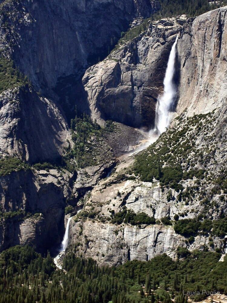 Upper and Lower Falls by Laura Puglia