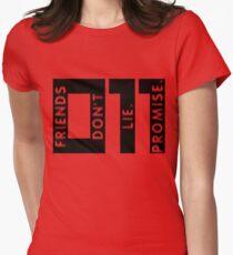 Friends Don't Lie Women's Fitted T-Shirt