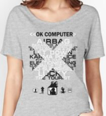 Radiohead - OK Computer Women's Relaxed Fit T-Shirt