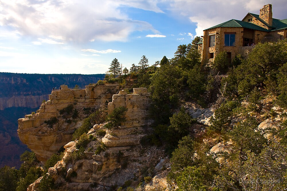 Grand Canyon North Rim Lodge by David Chappell