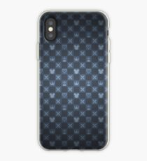 KH pattern - blue iPhone Case
