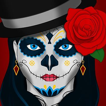 Dia de los Muertos (Day of the Dead) Girl by TheLivingEthan