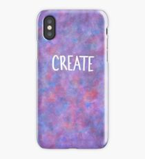 Create.Watercolor iPhone Case/Skin
