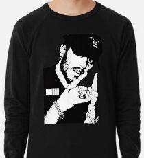 Russ Schwarz Weiß Leichtes Sweatshirt