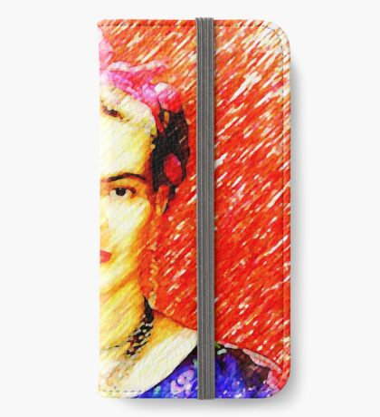 Looking for Frida Kahlo... iPhone Wallet
