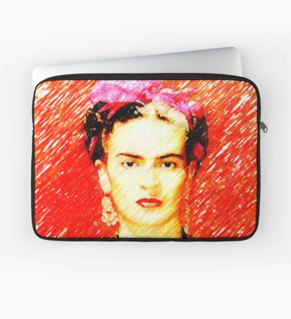 Looking for Frida Kahlo... Laptop Sleeve