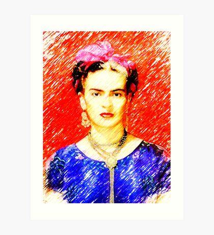 Looking for Frieda... Art Print