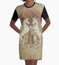 Affair of Honour Graphic T-Shirt Dress