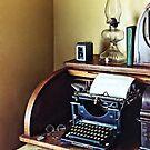 Vintage 1920s Typewriter In Home Office by Susan Savad