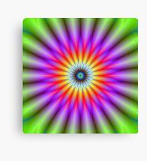 Wheel of Colour Canvas Print