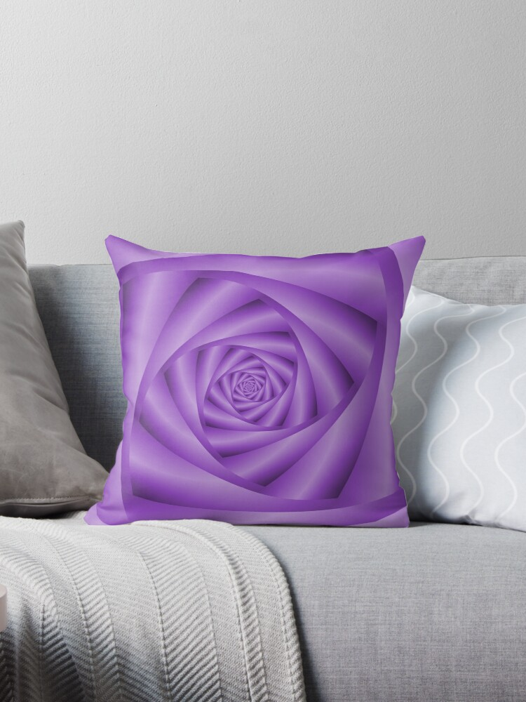 Violet Spiral by Objowl