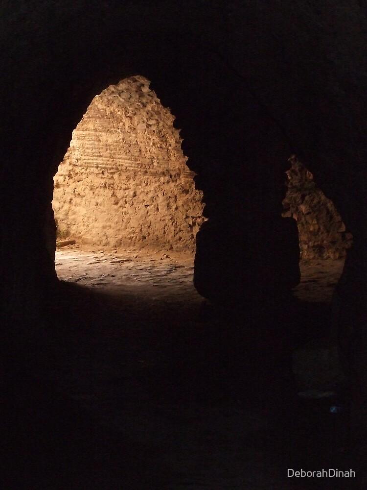 Underground passagesways in Bulla Regia by DeborahDinah