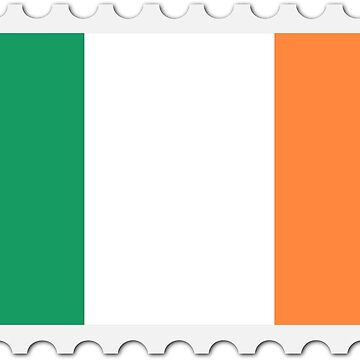 Ireland Stamp Flag by Kevin757