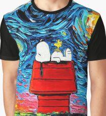 sleeping snoopy Graphic T-Shirt