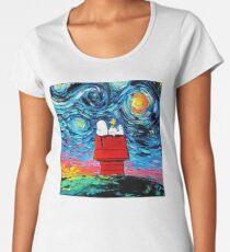 sleeping snoopy Women's Premium T-Shirt
