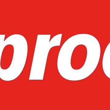 Supreme Logo Suproom by pkbrendan