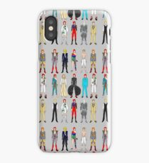Outfits of Heroes  iPhone Case/Skin