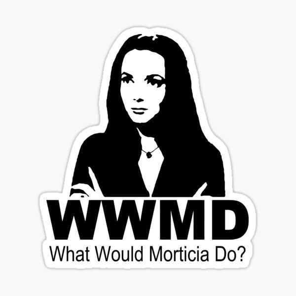 Morticia Addams Quotes Stickers Redbubble