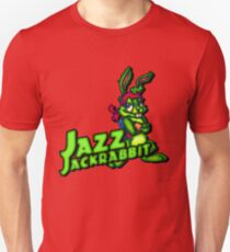 Jazz Jackrabbit - Klassischer Sprite mit Logo Slim Fit T-Shirt