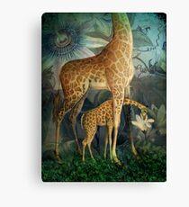 Jungle Life Canvas Print