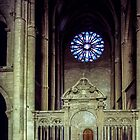 North Transept St Remis Reims France 19840823 0056  by Fred Mitchell