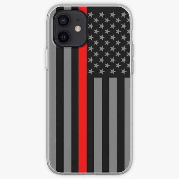 American Firefighter US Flag iPhone Soft Case