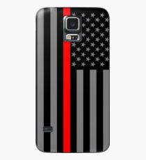 American Firefighter US Flag Case/Skin for Samsung Galaxy