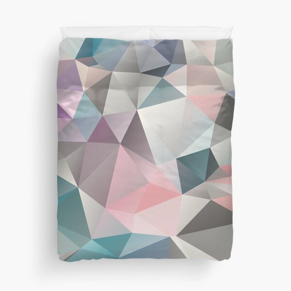 Polygon abstract 1 Duvet Cover